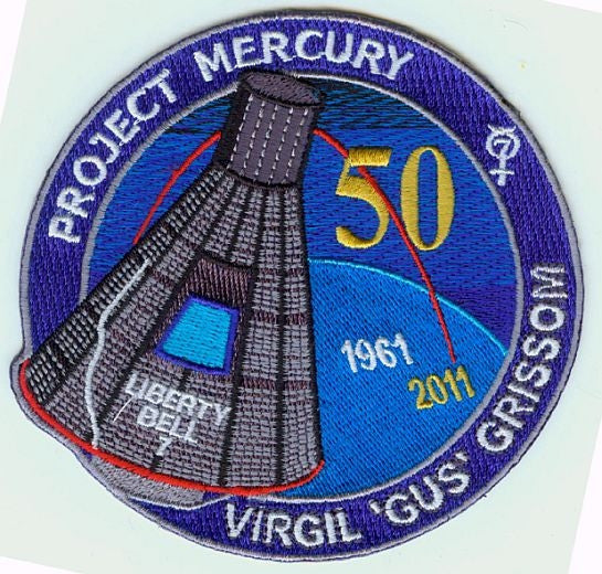 Liberty Bell 7'  50th Anniversary Commemorative patch