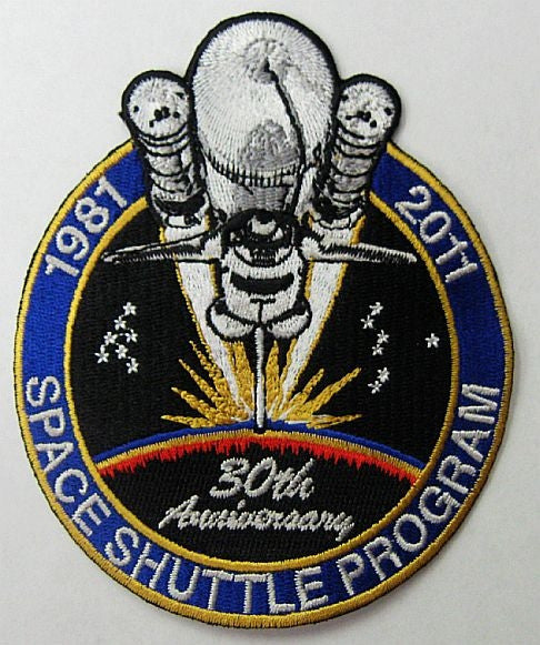 Space Shuttle 30th Anniversary Patch (Official NASA Edition)