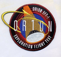 Orion EFT-1 Exploration Flight Test 1 Mission Patch