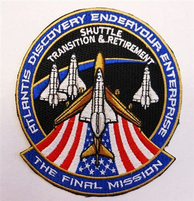 The Final Mission 'Shuttle Transition & Retirement' Patch