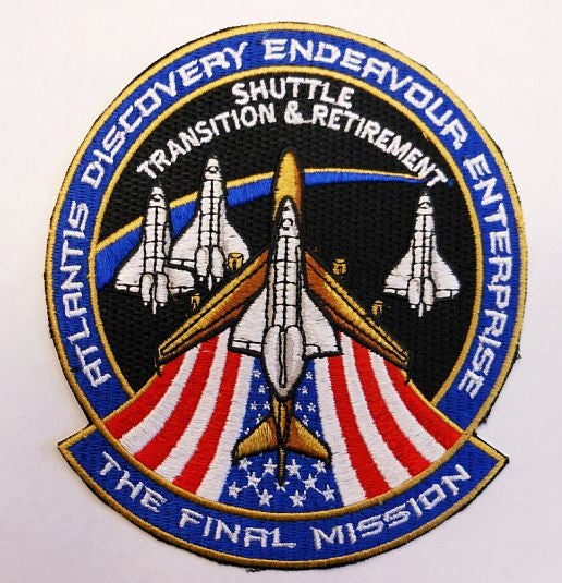 The Final Mission 'Shuttle Transition & Retirement' Patch - The Space Store