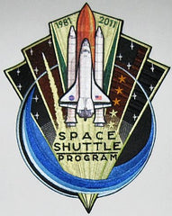 "10"" Space Shuttle 'End of Program' 1981-2011 - Patch"