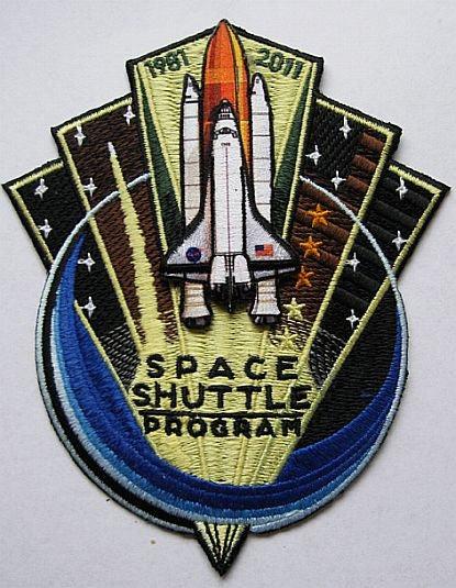 Space Shuttle 'End of Program' 1981 - 2011 Patch - The Space Store