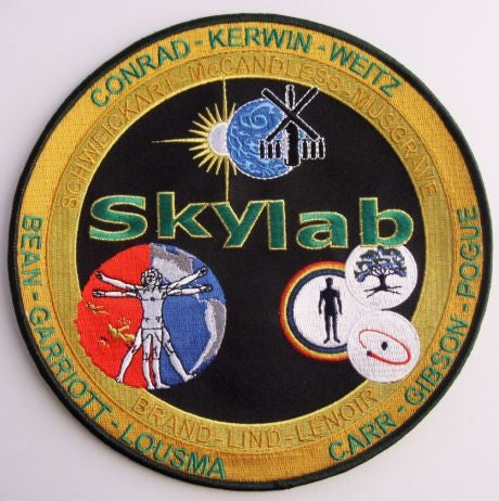 "Skylab Commemorative 8"" Patch"