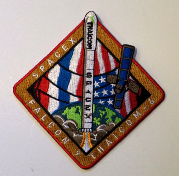 SPACEX MISSION PATCH THAICOM 6 ​