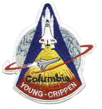 STS-1 Mission Patch - The Space Store