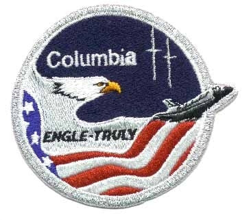 STS-2 Mission Patch - The Space Store