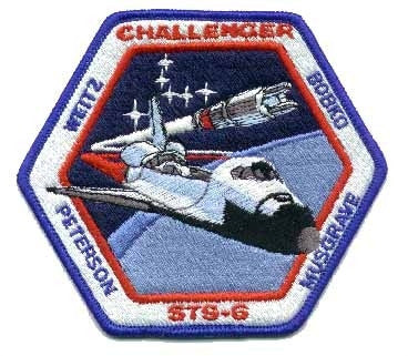 STS-6 Mission Patch - The Space Store