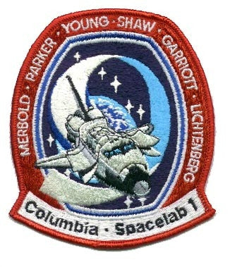 STS-9 Mission Patch - The Space Store
