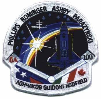STS-100 Mission Patch - The Space Store
