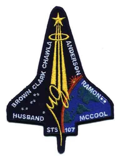 STS-107 Mission Patch - The Space Store