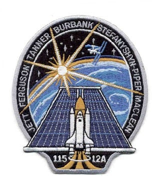 STS-115 Mission Patch - The Space Store
