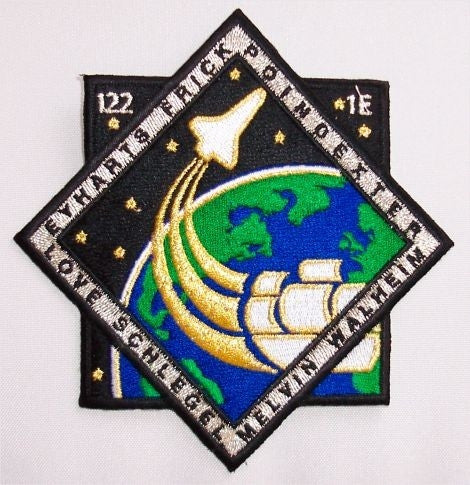 STS-122 Mission Patch - The Space Store