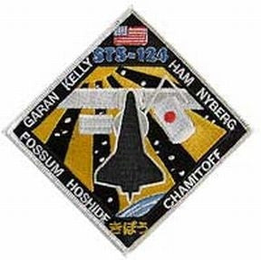 STS-124 Mission patch