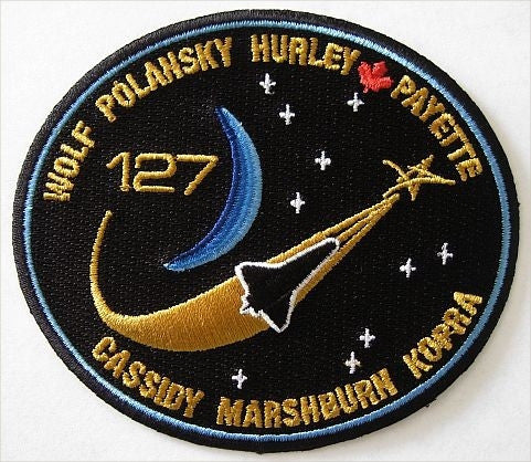 STS-127 Mission Patch - The Space Store