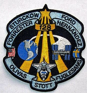 "STS-128 4"" Mission Patch - The Space Store"