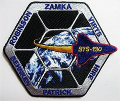 STS-130 Mission Patch