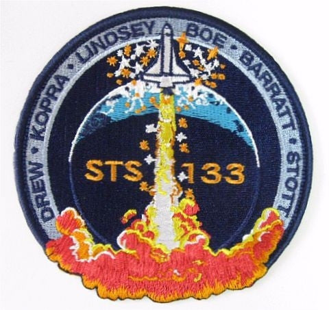 STS-133 Mission Patch - The Space Store