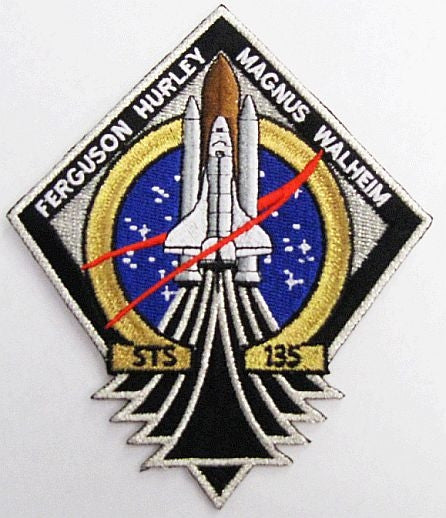 STS-135 Mission Patch - The Space Store