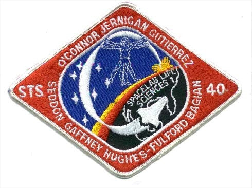 STS-40 Mission Patch - The Space Store