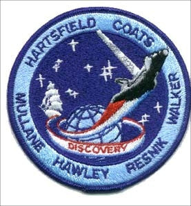 STS-41D Mission Patch - The Space Store