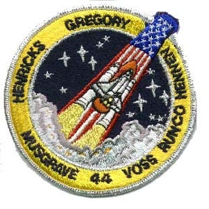 STS-44 Mission Patch - The Space Store