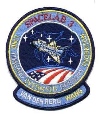 STS-51B Mission Patch - The Space Store