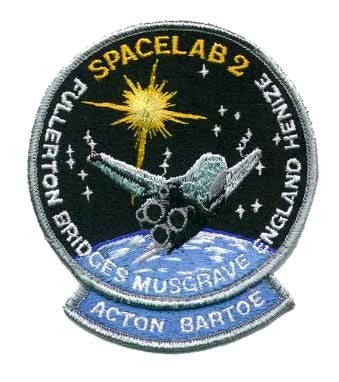 STS-51F Mission Patch - The Space Store