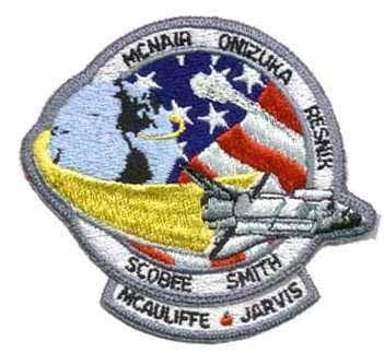 STS-51L Mission Patch - The Space Store