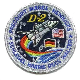 STS-55 Mission Patch - The Space Store