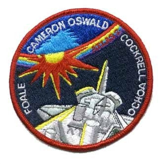 STS-56 Mission Patch - The Space Store