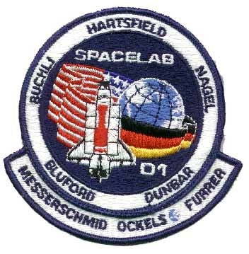 STS-61A Mission Patch