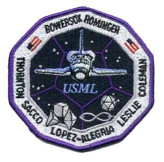 STS-73 Mission Patch