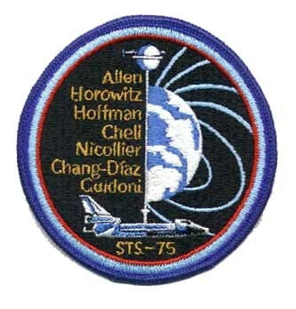 STS-75 Mission Patch - The Space Store