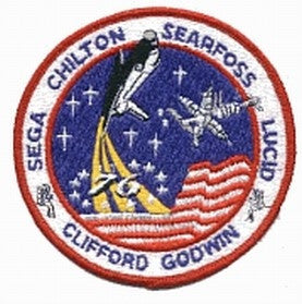 STS-76 Mission Patch