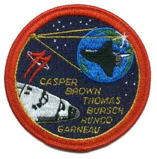 STS-77 Mission Patch - The Space Store