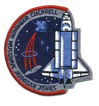 STS- 80 Mission Patch