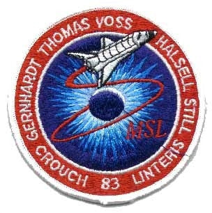 STS- 83 Mission Patch - The Space Store