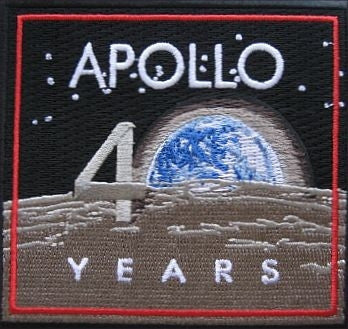 Official Apollo 11 40th Anniversary Patch