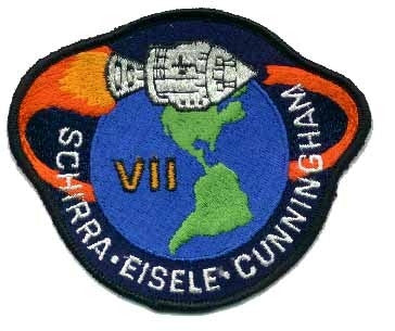 Apollo 7 Mission Patch - The Space Store