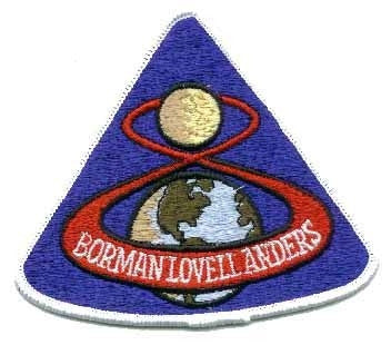 Apollo 8 Mission Patch - The Space Store