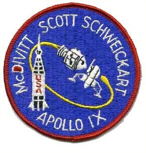 Apollo 9 Mission Patch - The Space Store