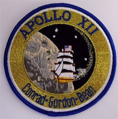 Apollo 12 Mission Patch - The Space Store