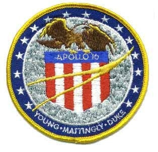 Apollo 16 Mission Patch - The Space Store
