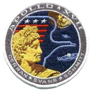 Apollo 17 Mission Patch - The Space Store