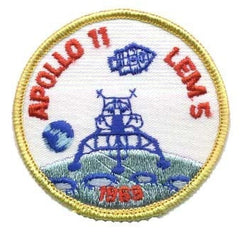 Apollo 11 'LEM 5' - Patch