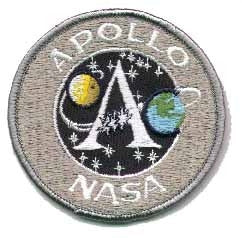 Apollo Mission Program Patch - The Space Store