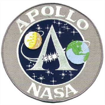 8 Inch Apollo Program Patch - The Space Store