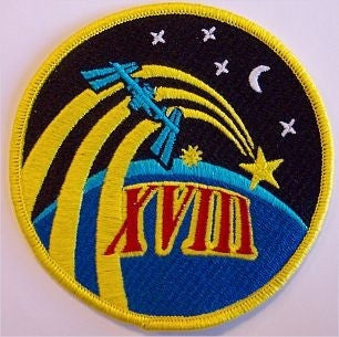 Expedition 18 Mission Patch - The Space Store
