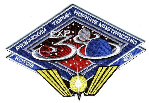 Expedition 38 Mission Patch